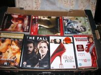215 DVDs SOME SEALED OR UNUSED