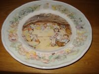 Royal Worcester Plates - Peter Pan Collection