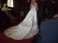 Concertina Italian Wedding Dress