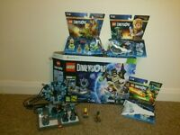 Xbox 360 Lego Dimensions Starter Kit with figures