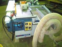 Minimax CU350K 3 phase Combination Saw, Spindle Moulder, Planer, Thicknesser