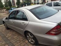 Automatic C-Class in excellent condition.