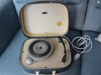 Genuine 60's Vintage Record Player.