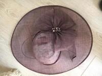 Ladies purple hat