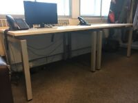 White Bench Office Desks For Sale