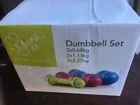 Davina McCall Dumbbell Set Used Excellent Condition Buyer Collects Boxed