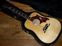 Gibson Dove dreadnought acoustic 2010 with LR Baggs pickup
