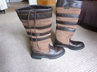 RYDALE Equestrian Equine Horse Riding Boots size UK 8 Ryedale