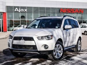 2013 Mitsubishi Outlander 4WD XLS AWD*Leather*Bluetooth