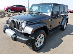2014 Jeep Wrangler Unlimited Sahara, 4x4, Remote Start