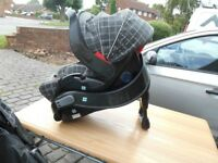 Car seat and docking station