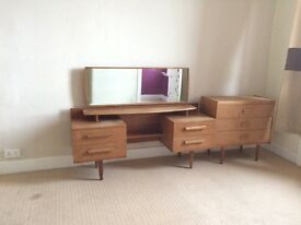 Super retro G-plan dresser and chest of drewers perfect for an upcycle project
