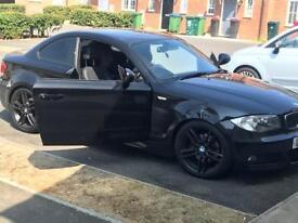 E82 BMW 120D M SPORT COUPE AUTO BLACK