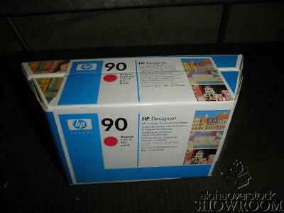 New Sealed Box OEM HP 90 Value Pack C5080A Magenta Ink Printhead Cleaner 06NOV08