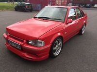 Ford escort 1.6 petrol £3000 Ono RS TURBO REP WELL CLEAN CAR FOR AGE