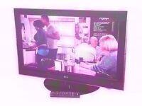 "LG 37"" LCD TV 1080P FULL HD USB,"