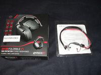EX-06 Foldable High Definition Stereo Headphones & 1 Bluetooth Headpohones set