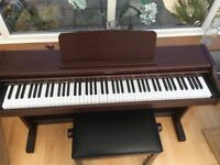 Technics Digital Piano SX-PC26 & Adjustable Height Stool.
