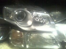 VW PASSAT B6 O/S HEADLIGHT 2005-2010