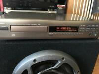 Yamaha natural Sound CD player hifi separates
