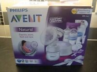 Avent Natural breasfeeding pump support set ans steriliser