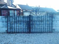 Wrought iron gates / Driveway gates / Garden gates / Metal gates / Steel gates / Double house gates