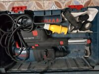 Bosch GBH 2-23 REA hammer drill with dust extractor