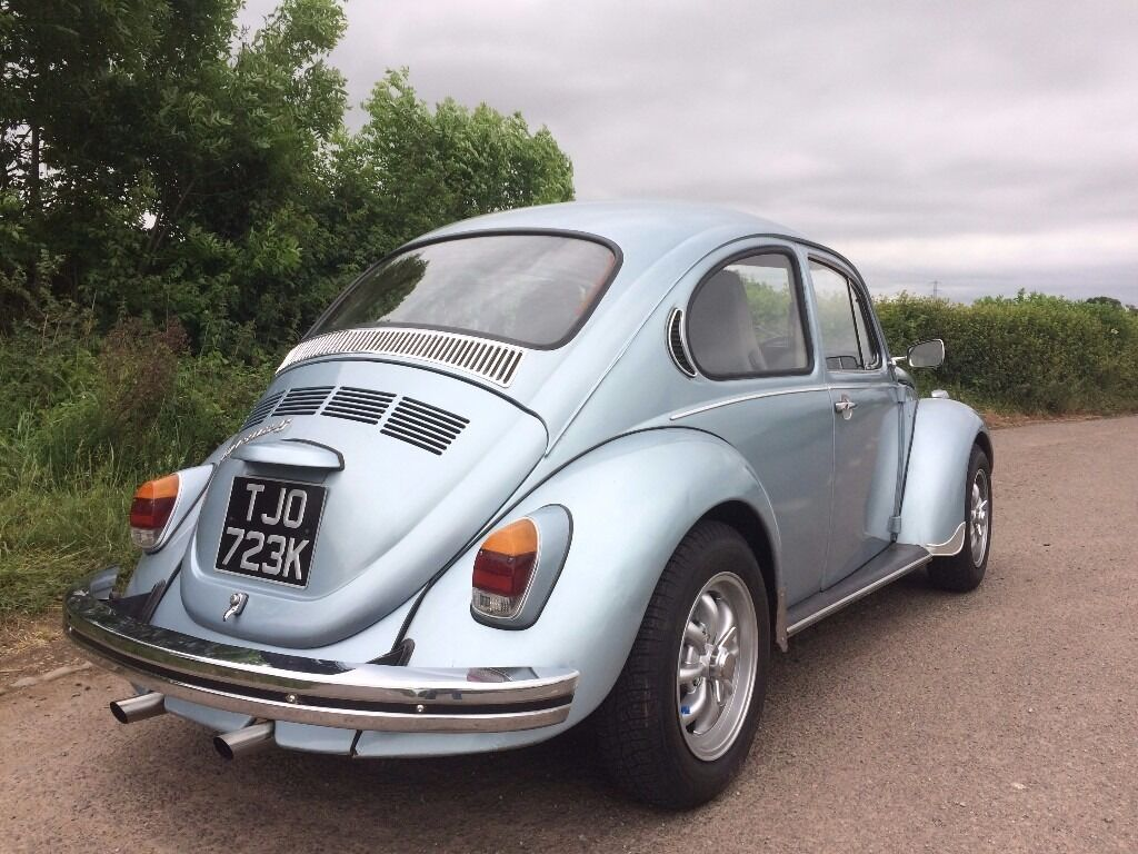 classic beetle 1971 tax free vw 1302s super beetle sedan marathon metallic blue 1600cc for. Black Bedroom Furniture Sets. Home Design Ideas