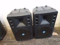RCF ART200A,Active speakers,pair,excellent sound