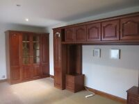 Lovely bedroom fitted wardrobes and units
