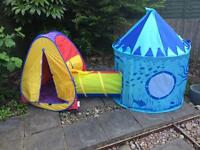 Children's Play Tents - £5 total