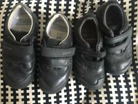 2 pairs of Clarks shoes
