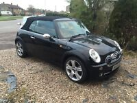 Mini Cooper Convertible 1.6 Petrol 54 Plate 8 Months M.O.T full Service history Low Millage 86,000
