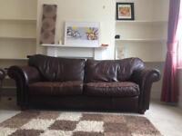 Leather vintage sofa for sale