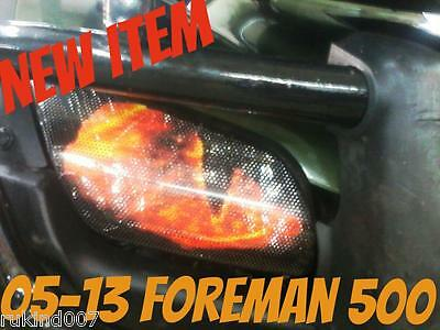 FOREMAN 500 TRX500FM  Reaper EYE'S Headlight Cover's  RUKINDCOVERS 05-13