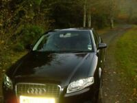 Audi A4 TDI 2.7 S Line 187bhp Automatic Diesel 102215 miles, Black, leather interior,