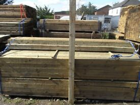 Timber fence post 100mmx100mmx2.4m
