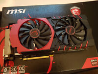 MSI R9 390 Gaming 8G OC Edition - AMD Graphics card with 8GB of VRAM - 175 ONO