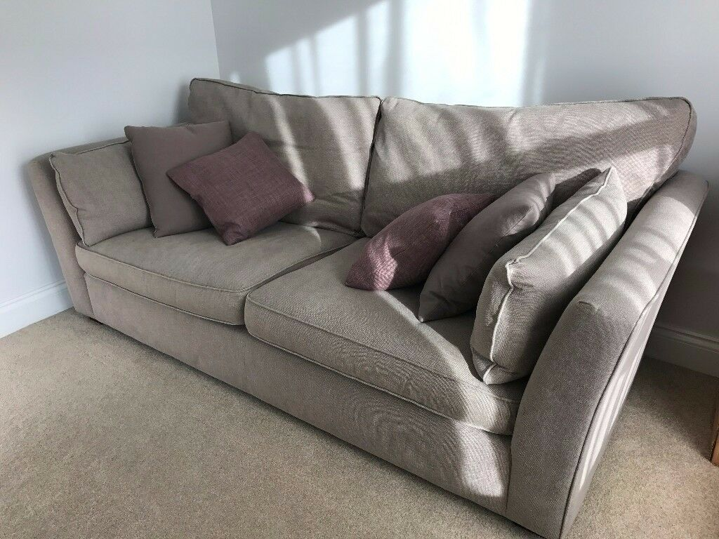 john lewis nantes 4 seater sofa and 2 snuggler armchairs in aylsham norfolk gumtree. Black Bedroom Furniture Sets. Home Design Ideas