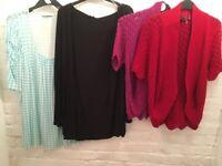 Wholesale job lot Brand New Women's plus size tops. For resale car boots/markets