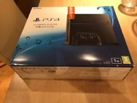 Only used twice. BOXED.PS4 1TB with controller+3 Games.2 sealed(see pic) £230 NO OFFERS.CAN DELIVER