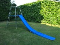 TP climbing frame, slide and extension. 13 yrs old. Used.