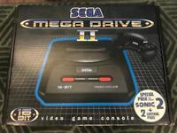 SEAGA MEGA DRIVE II with 17 Games