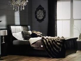 Swan single bed
