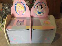 Disney Princess Storage Seats