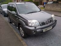 2007 NISSAN X TRAIL 4X4 2,1 DIESEL ESTATE