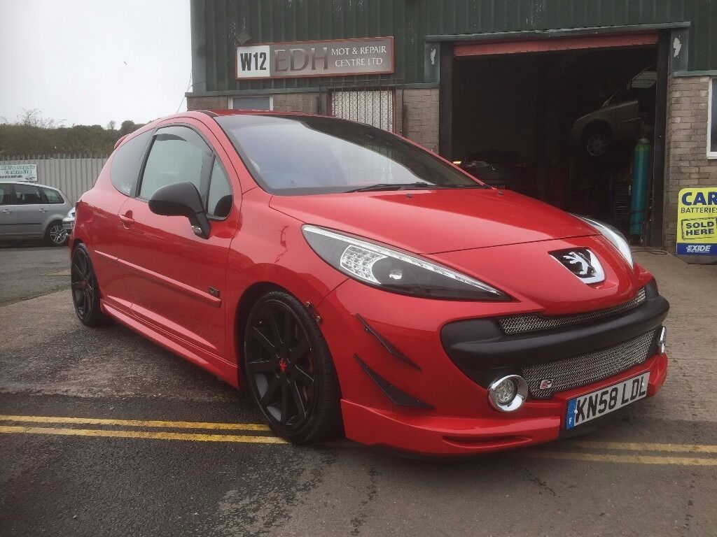 peugeot 207 1 6 thp gti 3dr 2008 stunning condition modified tuned now running 215bhp show car. Black Bedroom Furniture Sets. Home Design Ideas