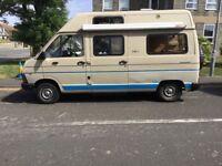 Renault trafic campervan