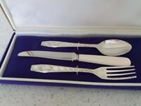Childs Silver Cutlery