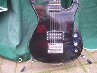 Encore electric guitar 3/4 size.